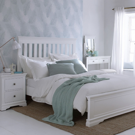 Stratford White Painted Bedroom Furniture